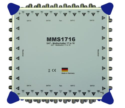 MMS1716 - Multischalter 17in 16out - aktiv